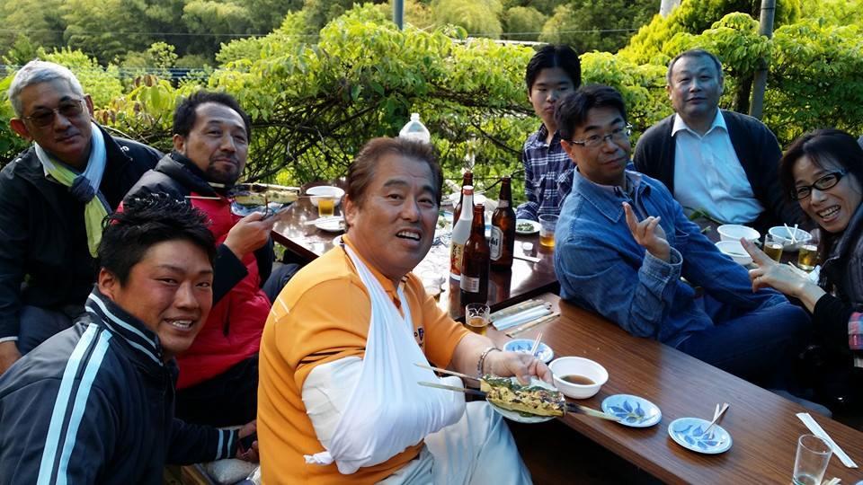 愛媛県大洲市山中に住む仙人に、1年振りに会いに来ました。_c0186691_22584349.jpg