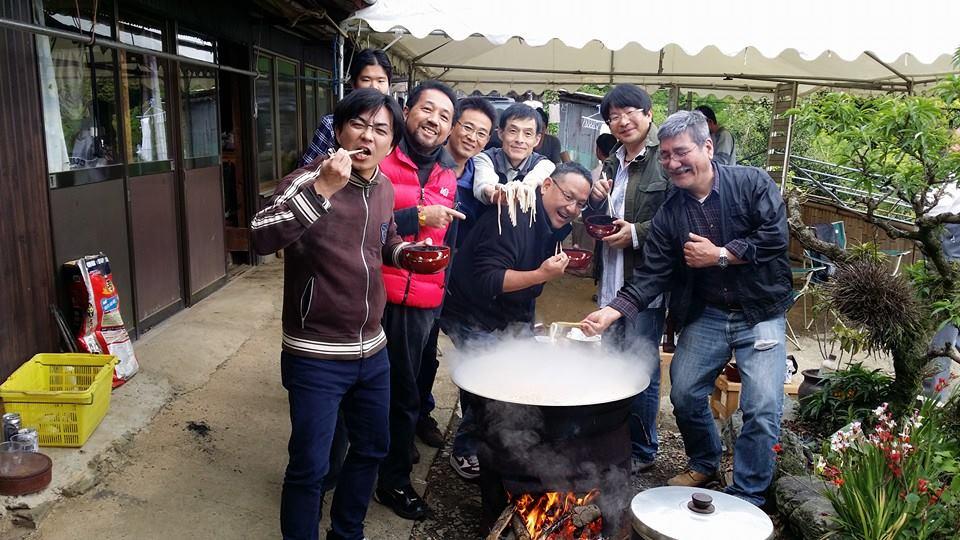 愛媛県大洲市山中に住む仙人に、1年振りに会いに来ました。_c0186691_2304151.jpg