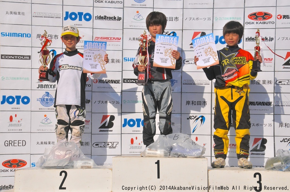 2014Jシリーズ /西日本シリーズ 第1戦 inサイクルピア岸和田 VOL7:B9〜10,11〜12歳決勝_b0065730_1956129.jpg
