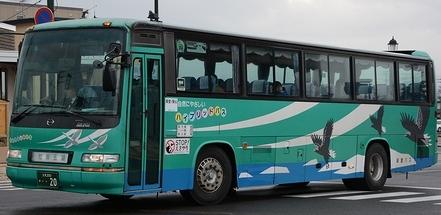 斜里バスのセレガ 2題_e0030537_20272844.jpg