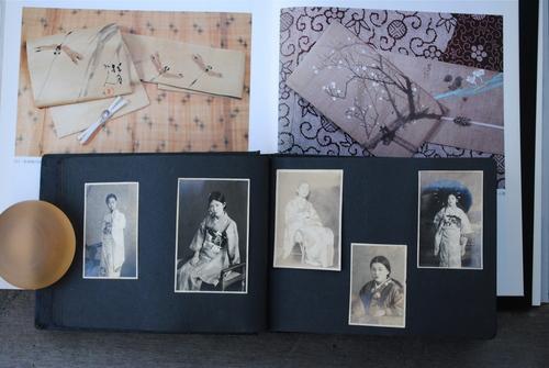 古い着物の本と古いアルバム_d0101846_5254986.jpg