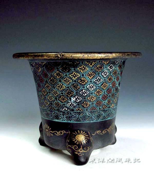 楽焼鉢の繕い(番外)                 No.1396_d0103457_0253959.jpg