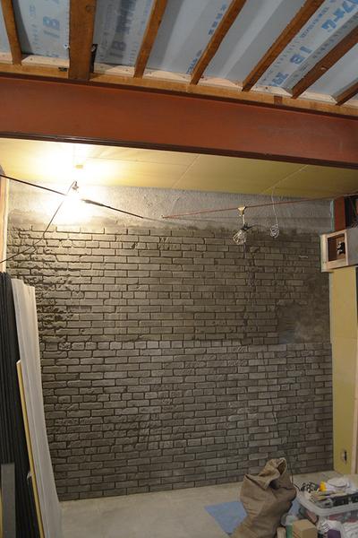 『YANBARU』  内装煉瓦造形工事no,3_f0192906_027435.jpg