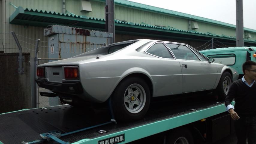 イタリアからの2台のフェラーリ_a0129711_15455296.jpg