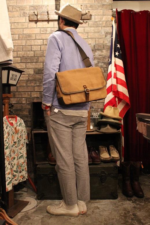 """SLOW \""""mail shloulder bag\"""" ご紹介_f0191324_10231159.jpg"""