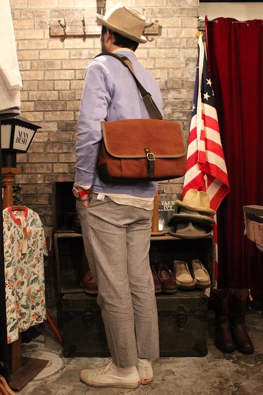 """SLOW \""""mail shloulder bag\"""" ご紹介_f0191324_10242167.jpg"""
