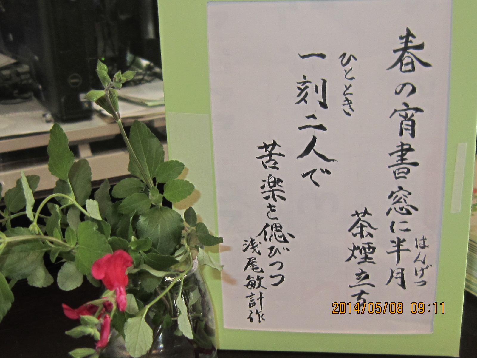 5月 季節の一句_a0158095_1449404.jpg