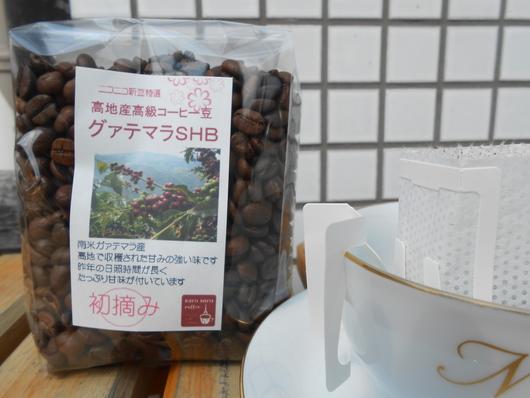 初摘み グァテマラ コーヒー豆_b0136223_11192173.jpg