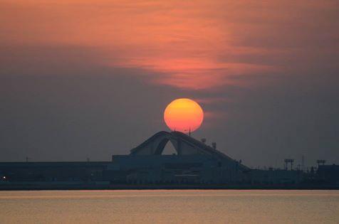 綺麗な朝日です_c0124528_1736183.png