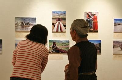 渡辺一枝写真展「消されゆくチベット」始まる_d0178431_21105849.jpg