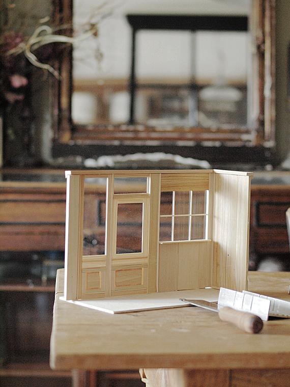 miniature*  natsural Cafe 製作はじめました_e0172847_1471859.jpg