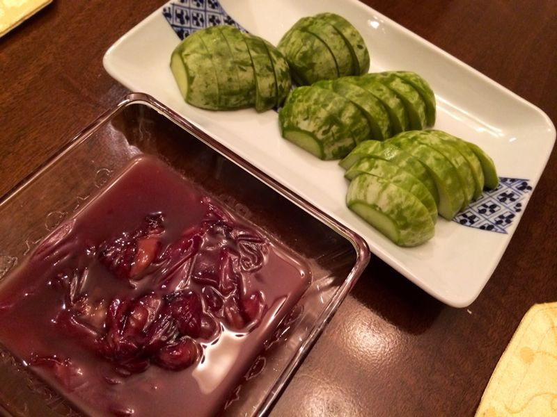 山菜天ぷら & おそば_c0151965_1344457.jpg