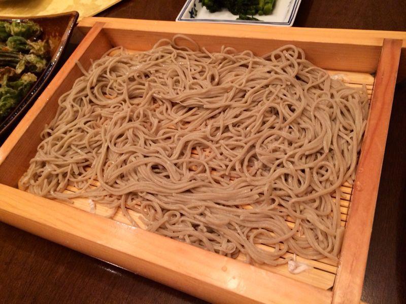 山菜天ぷら & おそば_c0151965_1344623.jpg