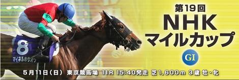 東京競馬場でのG1連戦がスタート、まずはNHKマイルカップの勝者は?_d0183174_1645254.jpg