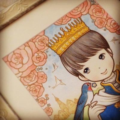 幸福の王子を紡ぐ ひかり 1_c0203401_233324.jpg