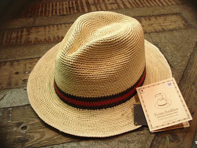 NEW : [RAFFIA]、[KENMA] & [CARLUDOVICA PALMATA] HAT !!_a0132147_1485063.jpg