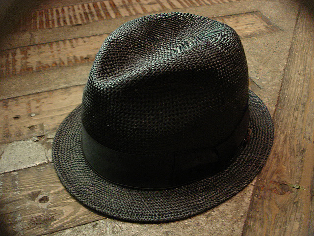 NEW : [RAFFIA]、[KENMA] & [CARLUDOVICA PALMATA] HAT !!_a0132147_1493417.jpg