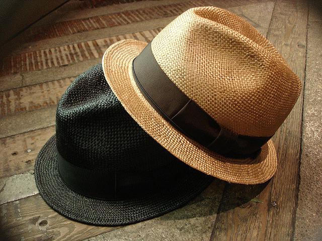 NEW : [RAFFIA]、[KENMA] & [CARLUDOVICA PALMATA] HAT !!_a0132147_1505265.jpg