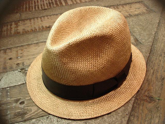 NEW : [RAFFIA]、[KENMA] & [CARLUDOVICA PALMATA] HAT !!_a0132147_1511512.jpg