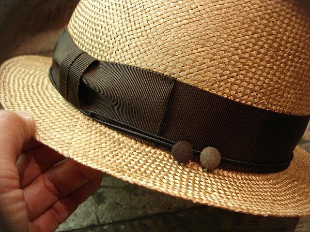 NEW : [RAFFIA]、[KENMA] & [CARLUDOVICA PALMATA] HAT !!_a0132147_1512944.jpg