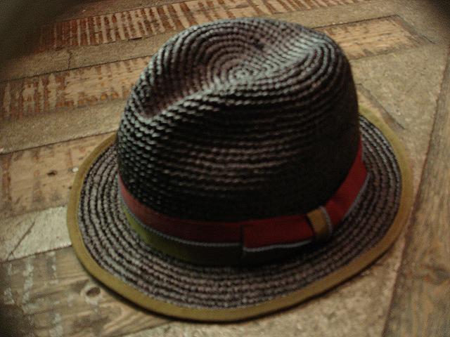 NEW : [RAFFIA]、[KENMA] & [CARLUDOVICA PALMATA] HAT !!_a0132147_1522520.jpg