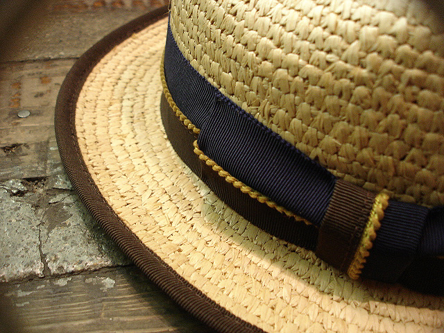 NEW : [RAFFIA]、[KENMA] & [CARLUDOVICA PALMATA] HAT !!_a0132147_1524418.jpg