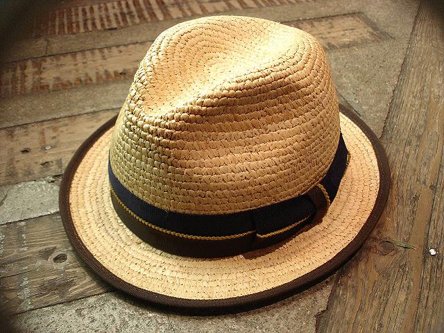 NEW : [RAFFIA]、[KENMA] & [CARLUDOVICA PALMATA] HAT !!_a0132147_1525817.jpg