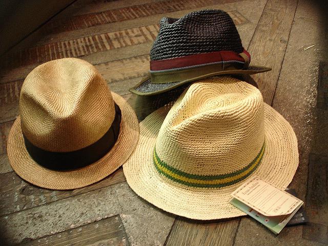 NEW : [RAFFIA]、[KENMA] & [CARLUDOVICA PALMATA] HAT !!_a0132147_1534133.jpg