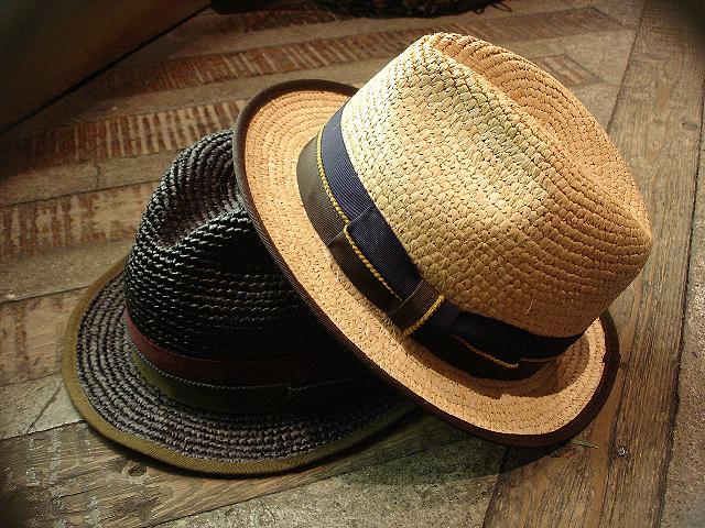 NEW : [RAFFIA]、[KENMA] & [CARLUDOVICA PALMATA] HAT !!_a0132147_1541287.jpg