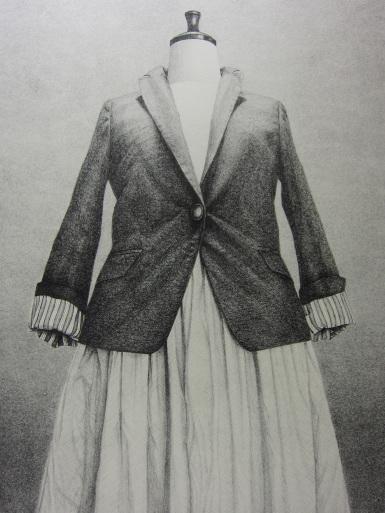 『鈴木智惠版画展』-1枚の布から服へさらに版画へ-27日(火)最終日です。蔵織一押しのリトグラフ作家です。お見逃がし無いようお願いいたします。_d0178448_00262193.jpg