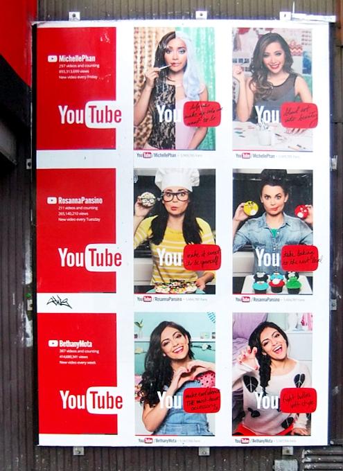 YouTubeチャンネルのスターをスターとして宣伝しはじめたYouTube_b0007805_2018964.jpg