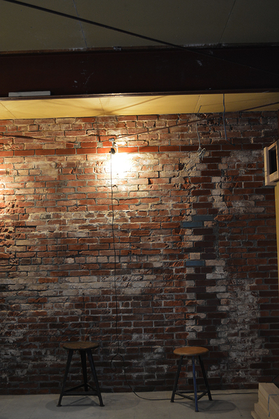 『YANBARU』  内装煉瓦造形工事no,5_f0192906_21185153.jpg