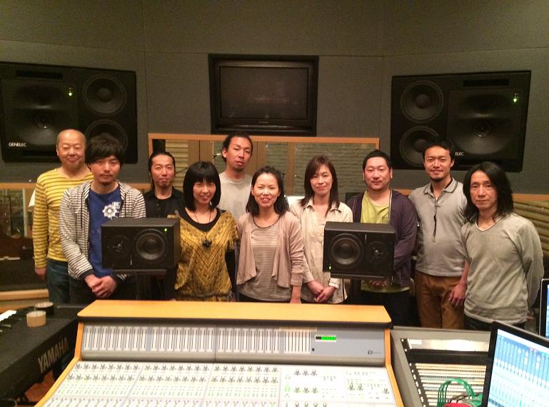 meets the composersレコーディング終了。_f0042307_2062231.jpg
