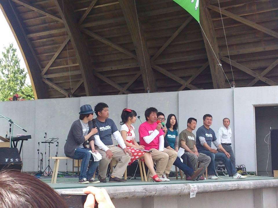 2014「つけち森林の市」ツナガルベンチ・イベント終了!祝日本一!!_a0299898_17105343.jpg