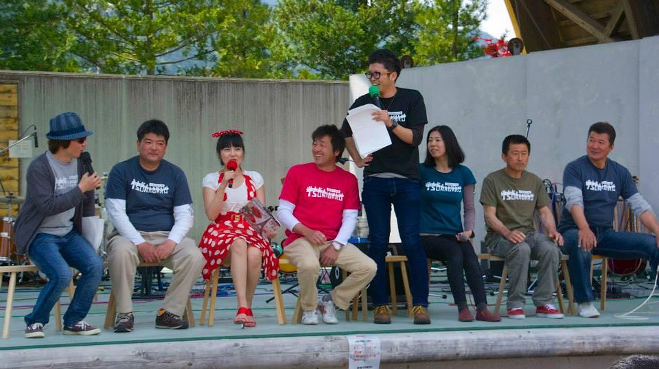 2014「つけち森林の市」ツナガルベンチ・イベント終了!祝日本一!!_a0299898_17112156.jpg