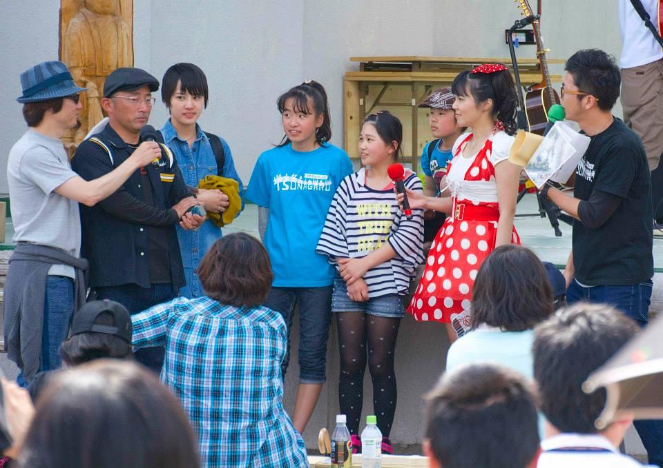 2014「つけち森林の市」ツナガルベンチ・イベント終了!祝日本一!!_a0299898_19205215.jpg