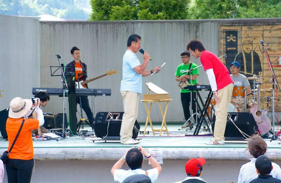 2014「つけち森林の市」ツナガルベンチ・イベント終了!祝日本一!!_a0299898_19243119.jpg