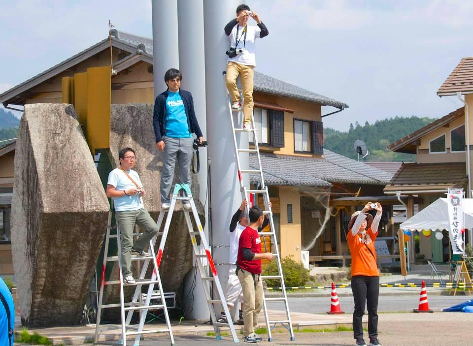 2014「つけち森林の市」ツナガルベンチ・イベント終了!祝日本一!!_a0299898_19294697.jpg