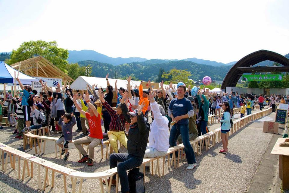 2014「つけち森林の市」ツナガルベンチ・イベント終了!祝日本一!!_a0299898_19323238.jpg