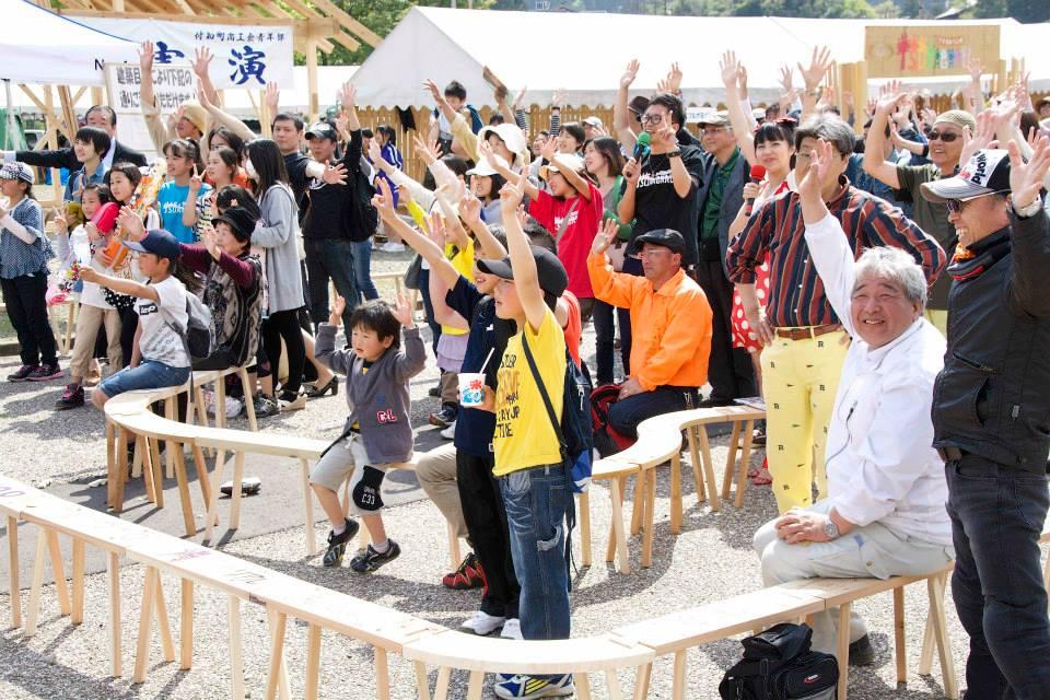 2014「つけち森林の市」ツナガルベンチ・イベント終了!祝日本一!!_a0299898_1932767.jpg