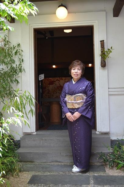 天目染めの着物を纏い、結婚式へ_d0230676_1514597.jpg