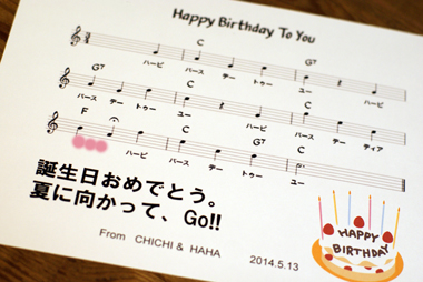 Happy Birthday ♪_d0167088_23124646.jpg