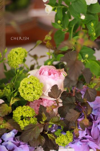 手作りのお花をお母様へ_b0208604_22022180.jpg