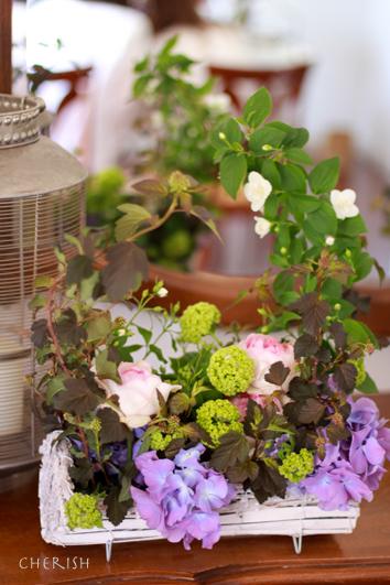 手作りのお花をお母様へ_b0208604_22030667.jpg