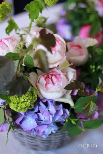手作りのお花をお母様へ_b0208604_22170317.jpg