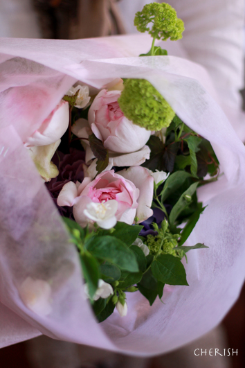 手作りのお花をお母様へ_b0208604_22172384.jpg