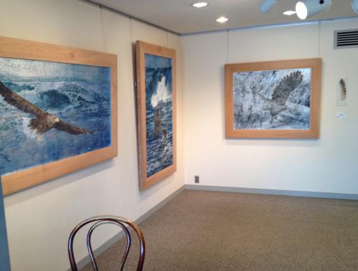 蔵織日本画塾の近藤幸夫先生の個展が画廊・岳で開催されています。_d0178448_10162462.jpg