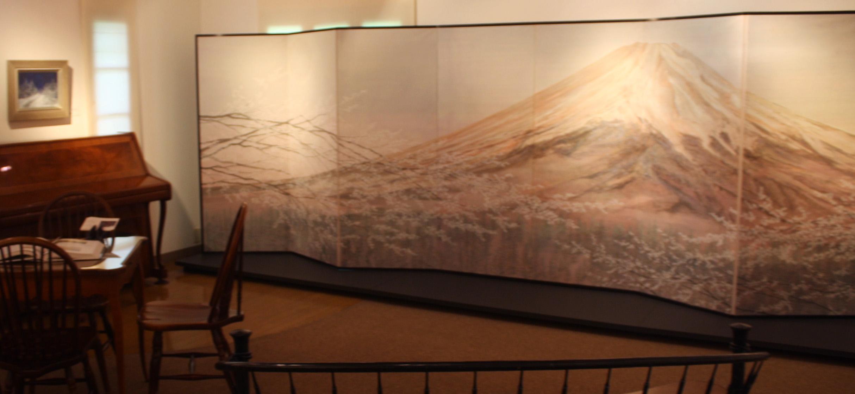 蔵織日本画塾の近藤幸夫先生の個展が画廊・岳で開催されています。_d0178448_10191439.jpg