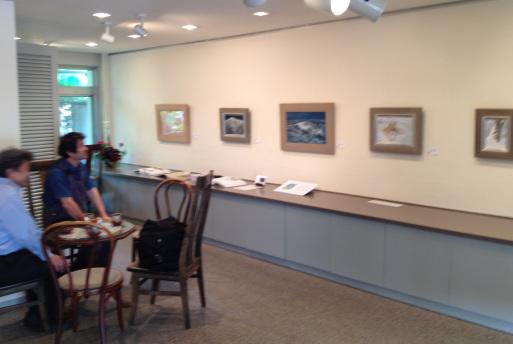 蔵織日本画塾の近藤幸夫先生の個展が画廊・岳で開催されています。_d0178448_10202496.jpg