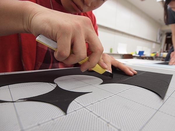 4週目は初めて色彩構成の授業/デザイン・工芸科 私大コース_f0227963_13185425.jpg